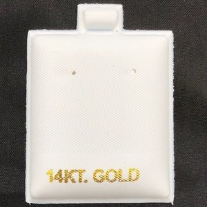 Other - 14kt White Earring Puff Pads 100pc